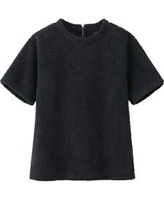 Boa Fleece tee shirt. $19.90 #uniqlo