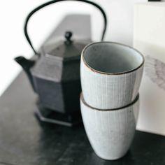 Time for tea, met de frisse 'Nordic Sea'mokjes van Broste Copenhagen!