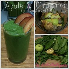 Apple & Cinnamon Green Smoothie aGirlCalledNyamka