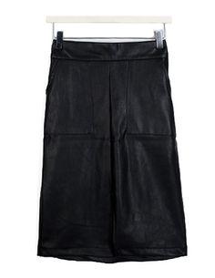 레더포켓,skirt