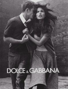 Dolce & Gabbana Fall/Wint 1996 - Enrique Palacios & Elsa Benitez by Steven Meisel