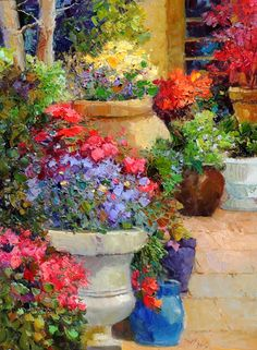 Adorning The Entry Artist Scott Wallis
