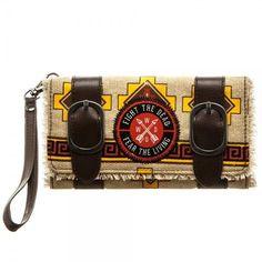 The Walking Dead Daryl Dixon Satchel Fold Wallet Wristlet Poncho Fight Dead Fear #Bioworld #SatchelFoldWallet