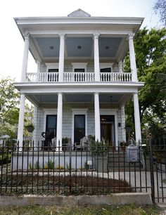 The Bywater home of Gary and Kathy Lavigne . New Orleans . Louisiana