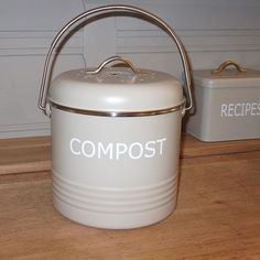 The Kitchen Gift Co - Compost Pot, £16.99 (http://www.thekitchengiftco.com/compost-pot/)