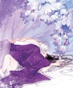 Your love blossoms in every parts of my being, and my heart looks like a garden of roses. CHRISTA Art by Ibuki Satsuki