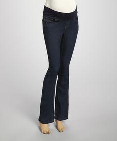 Look at this #zulilyfind! Mom & Co. True Dark Denim Maternity Jeans - Women by Mom & Co. #zulilyfinds