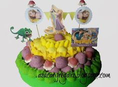 AzucaryRegaliz, el blog de las chuches: #tarta de Rapunzel#