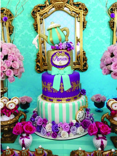 bolo festa ever after high