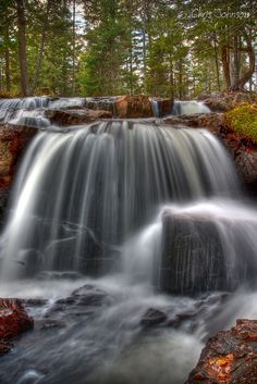 Waterfall near Tremblant, Quebec Canada by Chris Johnson on 500px