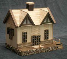 Fancy log cabin