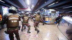 Şili'de 'acil durum' ilan edildi news haber San Bernardo, Energy Drinks, News, Rise Against, Santiago, Metro Station