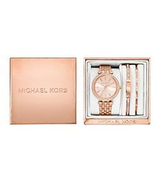 Find the Darci Rose Gold-Tone Gift Set by Michael Kors at Michael Kors.
