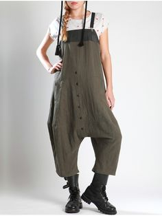 Thick Linen Overall by LURDES BERGADA