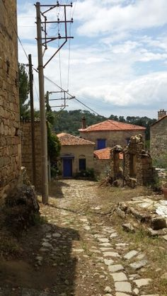 Adatepe Stone Houses, Plants, Stone Cottages, Stone Homes, Plant, Planets