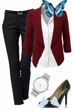 Kdeezee Stylish Work Outfit from outfitsforlife.com Visit our website for more outfits… #top #tshirt #tunics #vest #polo<br> Stylish Work Outfits, Tunics, Plus Size Fashion, Vest, Polo, Blazer, Website, T Shirt, Jackets