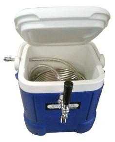 HomeBrewStuff Mini Jockey Box Draft beer dispenser Stainless Steel Coil Chiller Home Brew Stuff http://www.amazon.com/dp/B00FOSEE2I/ref=cm_sw_r_pi_dp_kPdKwb18N8JVV