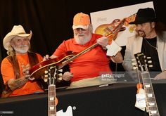 Recording Artists Dickey Betts, Charlie Daniels and Gary Rossington at the press confrence for the Gibson Custom Southern Rock tribute 1959 Les Paul at the Gibson Guitar Factory on May 2014 in Nashville, Tennessee. Dickey Betts, Gary Rossington, Charlie Daniels, Cowboys Shirt, Country Music Stars, Nashville Tennessee, Les Paul, Great Bands, Movies Showing