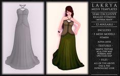 *1st week 25% Promo* ~ Lakrya Semi Exclusive FitMesh Dress Template # 009