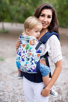 Canvas - Bohemian Baby exclusive 'Camelot' TULA BABY CARRIER