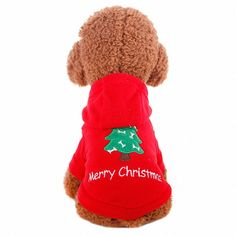 OMEM Christmas Pet Costumes, Christmas Holiday Festive Pet Coat for Dog and Cat *** Check this awesome image  : Christmas Presents for Cats