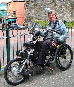 Wheelchair motorcycle!>>> See it. Believe it. Do it. Watch thousands of spinal cord injury videos at SPINALpedia.com