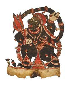 Hanuman sets fire to Lanka