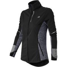 New Balance Women's Windblocker Jacket ($84) ❤ liked on Polyvore featuring outerwear, jackets, new balance jacket, new balance and wind blocker jacket