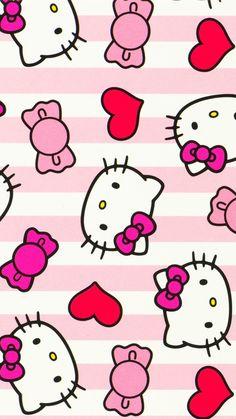 Laptop Wallpaper, Cute Wallpaper Backgrounds, Wallpaper Iphone Cute, Cute Wallpapers, Iphone Wallpapers, Iphone Backgrounds, Mobile Wallpaper, Hello Kitty Wallpaper Hd, Hello Kitty Backgrounds