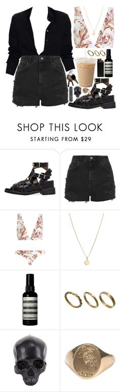 """babygirl"" by velvet-ears ❤ liked on Polyvore featuring Acne Studios, Topshop, Zimmermann, Laura Lee, Aesop, Made and D.L. & Co."