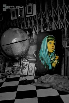 blue lady Lady, Blue, Photography, Painting, Painting Art, Paintings, Paint, Photograph, Draw
