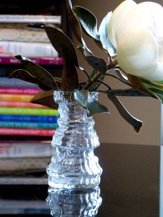 Rosenthal Vase Martin Freyer Glass Vase Germany by MidCenturyFLA