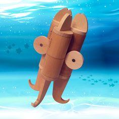 ... with #Imaginary Fauna!  #dive #scubadiving #underwaterphotography #instadive #ocean #nature #octopus #kraken #outdoors #summertime #summervibes #water #imaginaryfauna #lekkid #creativity #designedinbarcelona