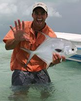 Belize fly-fishing resort. Pick #2 for trip. Adventure package.