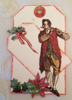 The twelve days of Christmas gift tag - Anne Rostad
