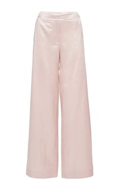 Silk Satin Mohair Baggy Pantalone by Isa Arfen for Preorder on Moda Operandi