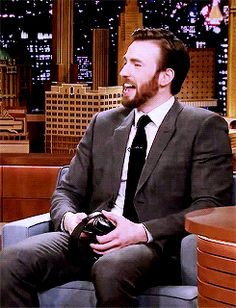I can never not repin this... Chris Laughing!