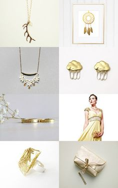 Oh, My Gold! by Cristina on Etsy--Pinned with TreasuryPin.com