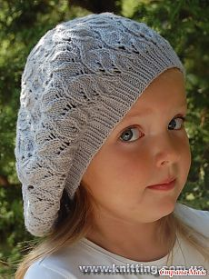 Vogue Knitting The Ultimate Hat Book Ravelry: Lace Beret pattern by Kate Gagnon Osborn Vogue Knitting, Baby Hats Knitting, Baby Knitting Patterns, Knitted Hats, Baby Barn, Knit Crochet, Crochet Hats, Kids Hats, Beanie Hats