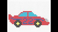 Hama Bead Race Car (Transport Series #15)