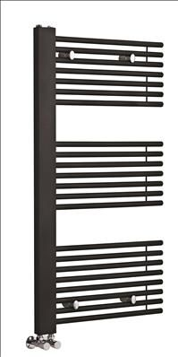 This Hudson Reed Finesse Designer Radiator would make the perfect addition to a contemporary bathroom setting. Finished in black anthracite, this would blend in Hudson Reed, Designer Radiator, Radiators, Modern Bathroom, Chrome, It Is Finished, Contemporary, Decor, Black