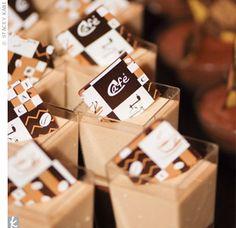 Wedding Catering: Must-Have Midnight Snacks - A chocolate bar dipped in a whippe. Wedding Catering: Must-Have Midnight Snacks – A chocolate bar dipped in a whippe… Diy Wedding Food, Wedding Snacks, Diy Wedding Favors, Wedding Appetizers, Wedding Desserts, Wedding Foods, Wedding Stuff, Wedding Invitations, Wedding Reception Planning