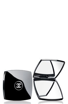 Free shipping and returns on CHANEL MIROIR DOUBLE FACETTES Mirror Duo at Nordstrom.com. A regular mirror on one side and a magnifying mirror on the other, perfect for touchups. Ultra-slim and compact, it is an elegant essential for every makeup bag.