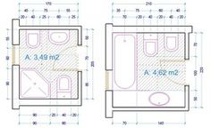 esempio dimensioni sanitari bagno con vasca | BathRoomDimensions ...