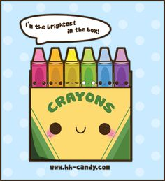 Sweet Crayon Box by A-Little-Kitty.deviantart.com