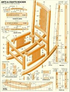 Free Rocking Chair Plans Desk Chairs Argos Pin By Margret E Jonsdottir On Hugmynda Banki Woodworking Projects