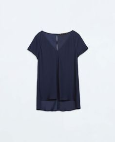 ZARA - COLLECTION AW14 - TOP WITH SLITS