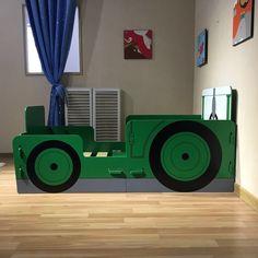Boissons tracteur rouge personnalisé coaster mat