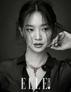 "Shin Min Ah shines with ""Love & Animal"" jewelry collection for Elle Korea Korean Star, Korean Girl, Asian Girl, Korean Beauty, Asian Beauty, Kpop, Top Mode, Korean Fashion Trends, Korean Celebrities"