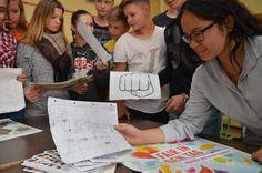 Setzen sich für faire Handelsbedingungen ein: Achtklässler der St.-Ursula-Schule.